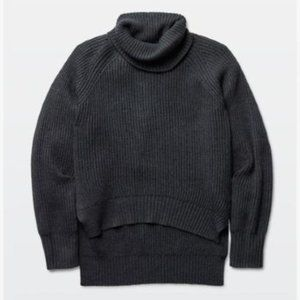 WILFRED FREE LIN SWEATER - Wool - Charcoal Grey